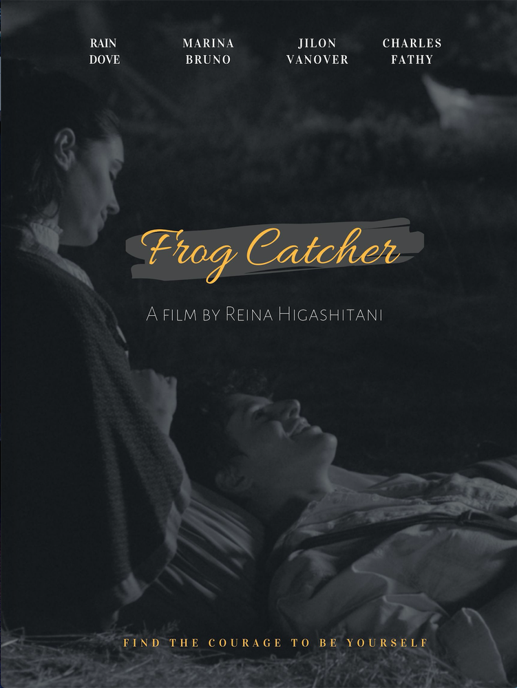 frog catcher poster
