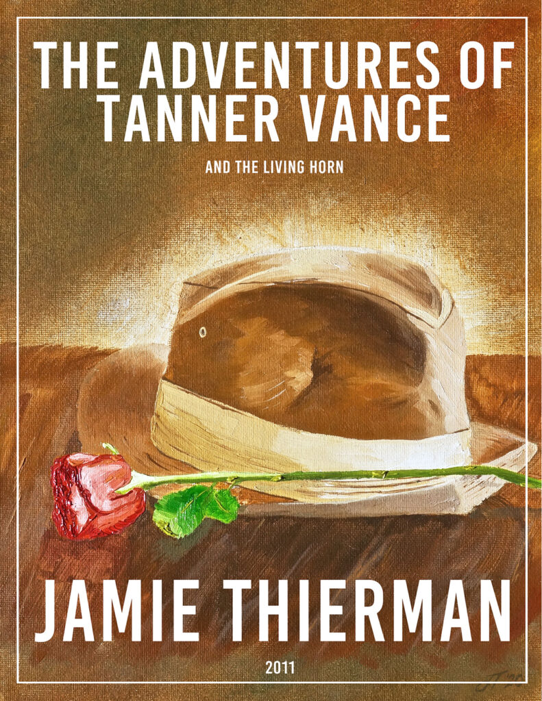 The Adventures of Tanner Vance Score Cover Art