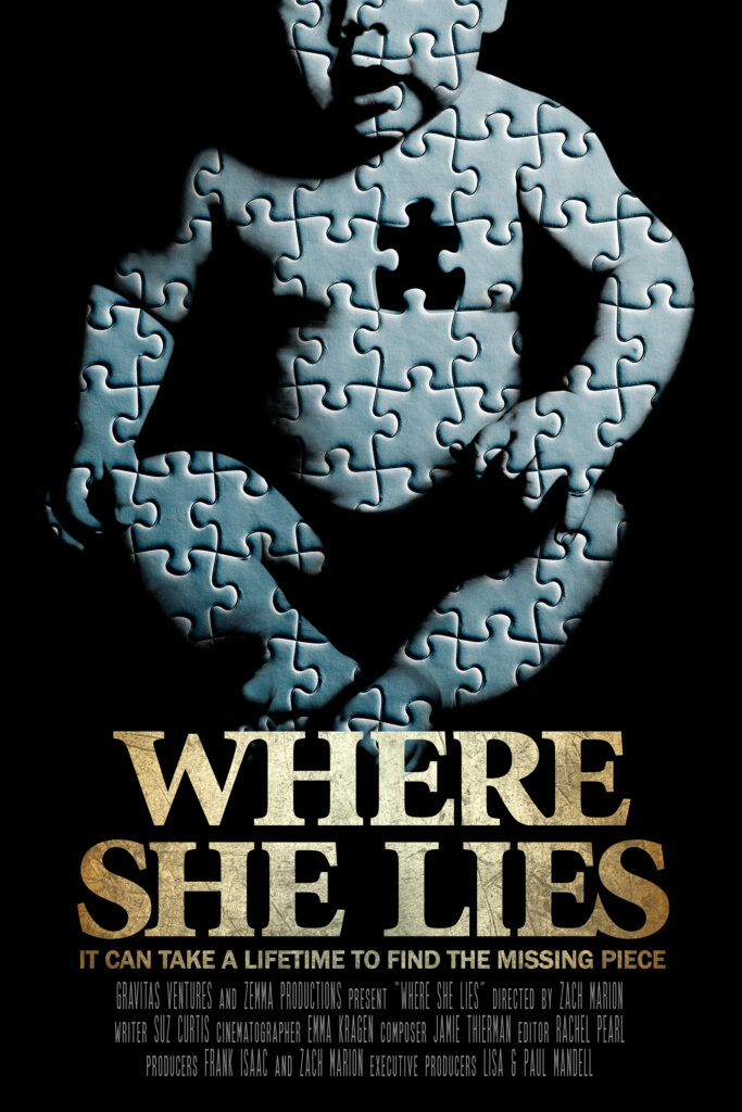 Where She Lies Poster Vertical